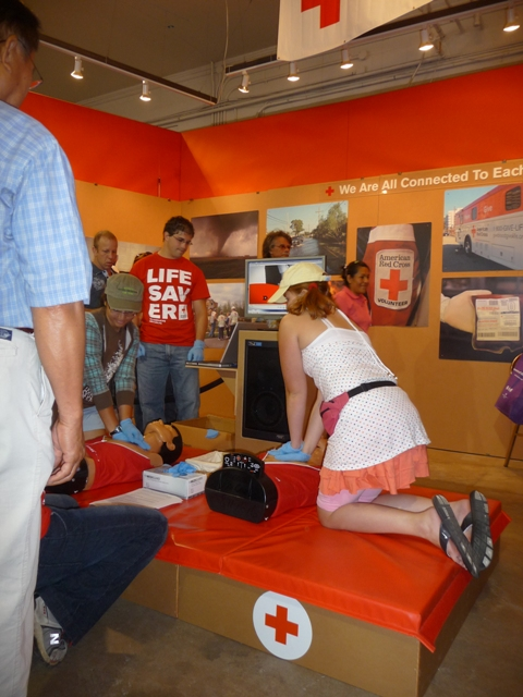 Compression-only CPR at the State Fair