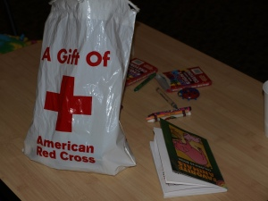 Red Cross Comfort Kit