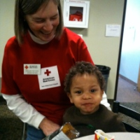 Busy Day Two At A Red Cross Shelter