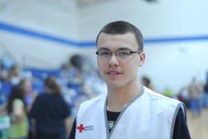 Breck Hensley, Red Cross Disaster Volunteer