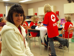 "Tammy Rudningen says the grant funded classes were a ""screamin' deal."" Photo credit: Lynette Nyman/American Red Cross"