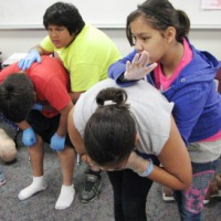 Red Lake Kids Get Red Cross Trained