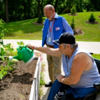 Gardens and Art Bring Color and Life to Veterans