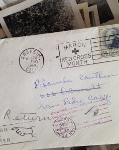 returned letter