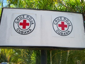 Cuban Red Cross (Cruz Roja Cubana) is one of 189 national Red Cross Red Crescent national societies around the globe. Photo courtesy of the author.