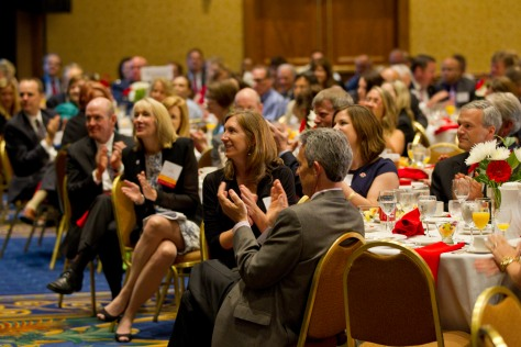 Around 450 people attended our 2014 Heroes Breakfast in Minneapolis. Photo credit: Andy King
