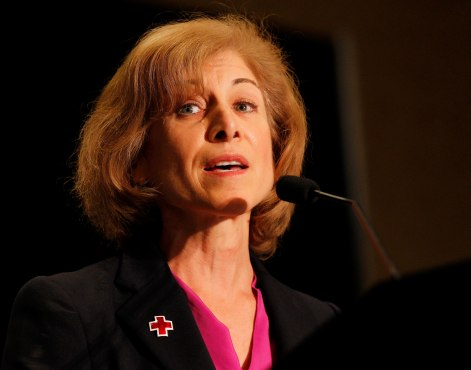 Red Cross President and CEO Gail McGovern. Photo credit: Andy King