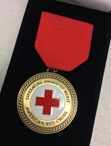 The Red Cross awards about 100 Certificates of Merit each year across the country.
