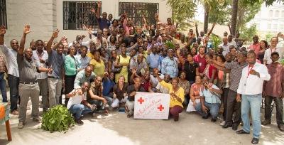 #RedCrossProud_HaitiTeam