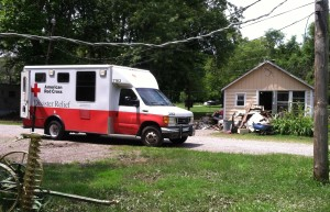 "Jerry's Red Cross ""Emergency Response Vehicle"" (ERV)"