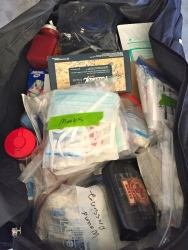 A look at the contents inside the Nursing Kit.
