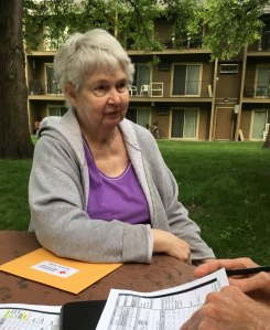 Donna Parrish lost her home of 30 years in Robbinsdale, Minnesota, during a fire on June 3, 2016